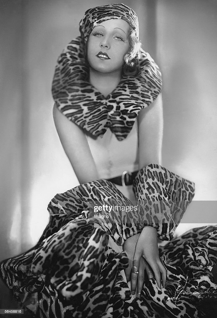 Gerty Gert Actress Photography around 1932 [Gerty Gert Schauspielerin Photographie um 1932]