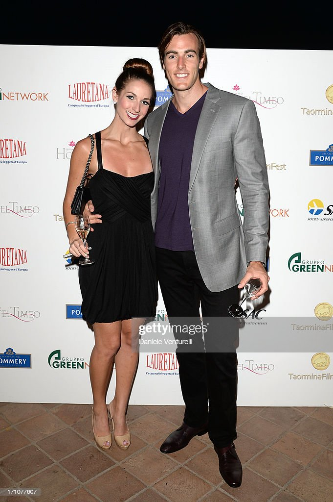 Gery Allyn and Conor Allyn attend Taormina Filmfest 2013 at Teatro Antico on June 21, 2013 in Taormina, Italy.