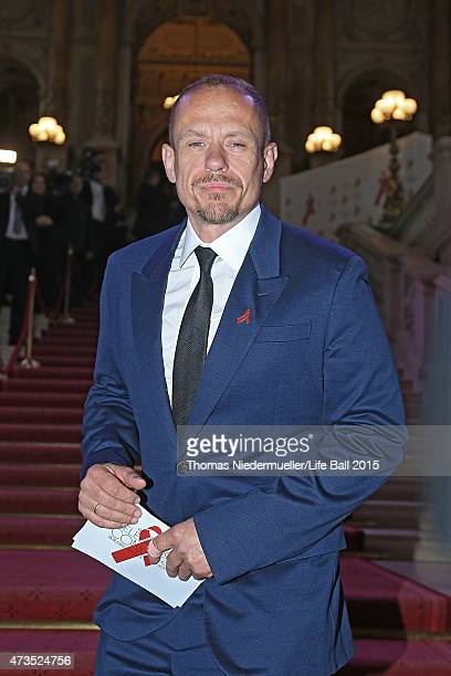 Gery Keszler attends the red carpet prior to the Red Ribbon Celebration Concert United in Difference at Burgtheater on May 15 2015 in Vienna Austria