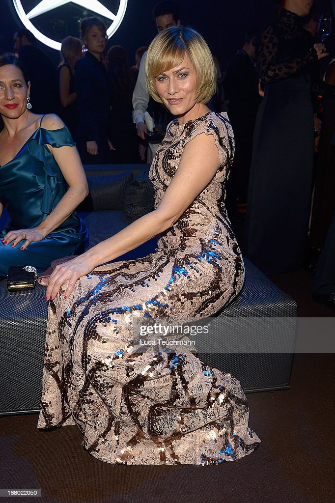 Gesine Cukowski attends the Bambi Awards 2013 After Show Party at Stage Theater on November 14, 2013 in Berlin, Germany.