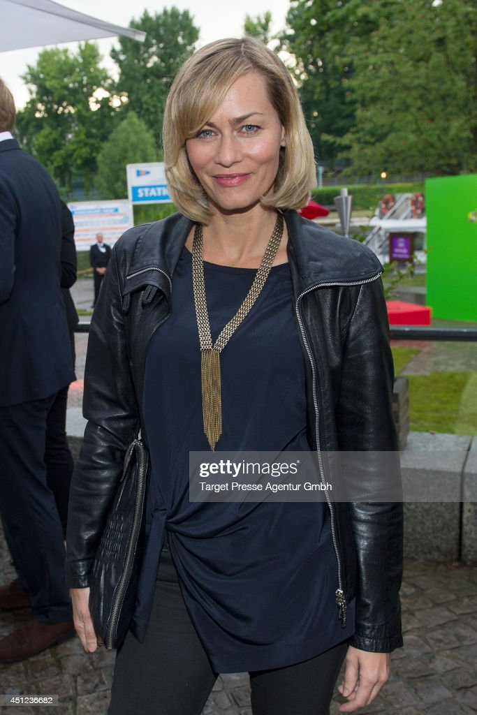 <a gi-track='captionPersonalityLinkClicked' href=/galleries/search?phrase=Gesine+Cukrowski&family=editorial&specificpeople=636537 ng-click='$event.stopPropagation()'>Gesine Cukrowski</a> attends the producer party 2014 (Produzentenfest) of the Alliance German Producer - Cinema And Television on June 25, 2014 in Berlin, Germany.