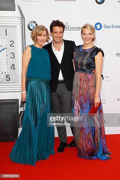 Gesine Cukrowski Oliver Mommsen und Tanja Wedhorn during the Lola German Film Award 2016 on May 27 2016 in Berlin Germany