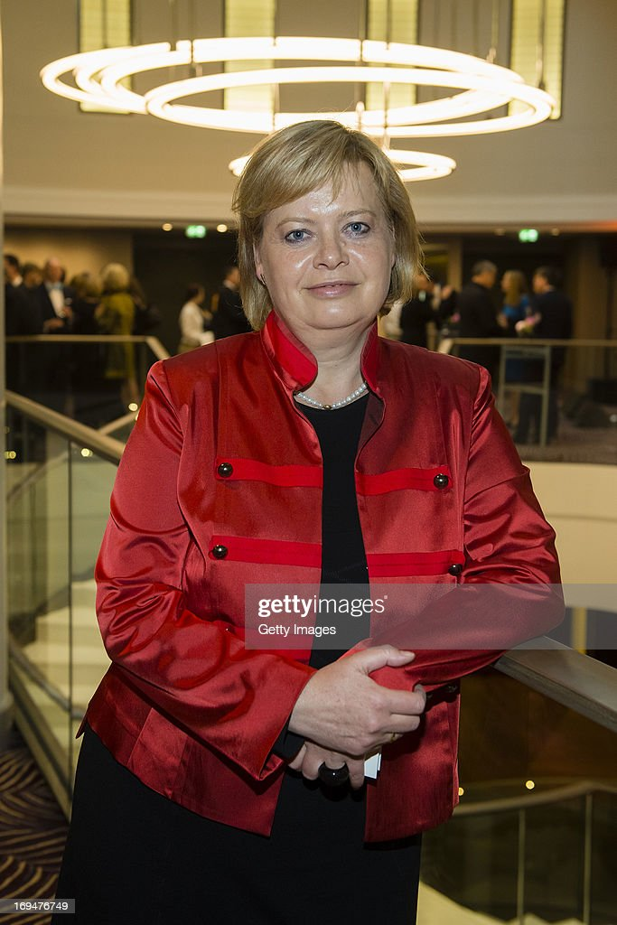 Gesine Loetzsch attends the 1st Charity Dinner by Federal Trust Fund Magnus Hirschfeld at Waldorf Astoria on May 25, 2013 in Berlin, Germany.