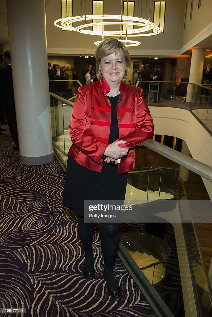 <a gi-track='captionPersonalityLinkClicked' href=/galleries/search?phrase=Gesine+Loetzsch&family=editorial&specificpeople=6954888 ng-click='$event.stopPropagation()'>Gesine Loetzsch</a> attends the 1st Charity Dinner by Federal Trust Fund Magnus Hirschfeld at Waldorf Astoria on May 25, 2013 in Berlin, Germany.