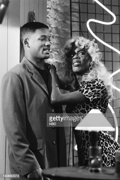 AIR THE 'Get a Job' Episode 2 Pictured Will Smith as William 'Will' Smith Chris Rock as Jasmine Photo by Jan Sonnenmair/NBCU Photo Bank