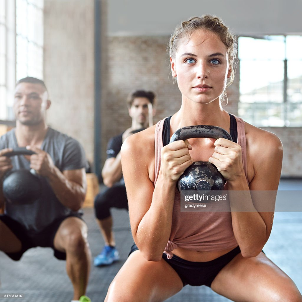 Get fit, get strong : Stock Photo