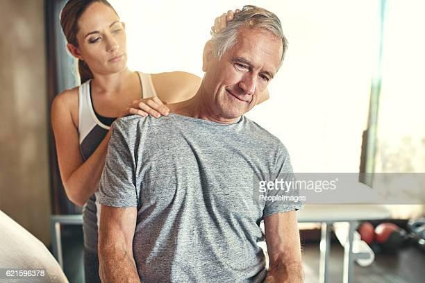Get rid of sharp neck pain