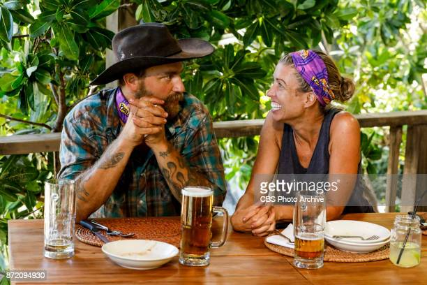 'Get to Gettin'' Ben Driebergen and Chrissy Hofbeck on the seventh episode of SURVIVOR 35 themed Heroes vs Healers vs Hustlers airing Wednesday...