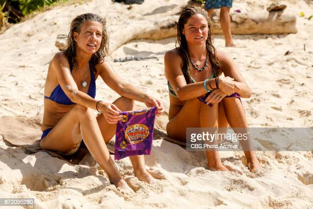 'Get to Gettin'' Chrissy Hofbeck and Ashley Nolan on the seventh episode of SURVIVOR 35 themed Heroes vs Healers vs Hustlers airing Wednesday...