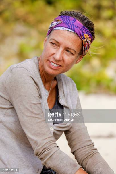'Get to Gettin'' Chrissy Hofbeck on the seventh episode of SURVIVOR 35 themed Heroes vs Healers vs Hustlers airing Wednesday November 8 on the CBS...