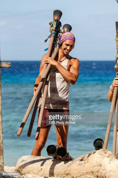 'Get to Gettin'' Devon Pinto on the seventh episode of SURVIVOR 35 themed Heroes vs Healers vs Hustlers airing Wednesday November 8 on the CBS...