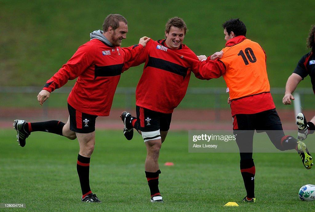 Wales IRB RWC 2011 Training Session