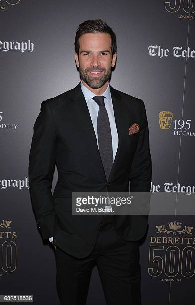 Gethin Jones attends Debrett's 500 Gala at BAFTA sponsored by BMW and Hugo Boss on January 23 2017 in London England