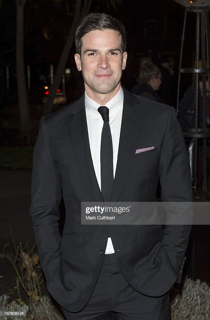 Gethin Jones attends the Sun Military Awards at Imperial War Museum on December 6, 2012 in London, England.