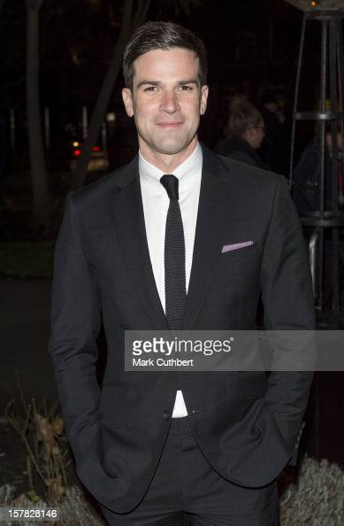 Gethin Jones attends the Sun Military Awards at Imperial War Museum on December 6 2012 in London England