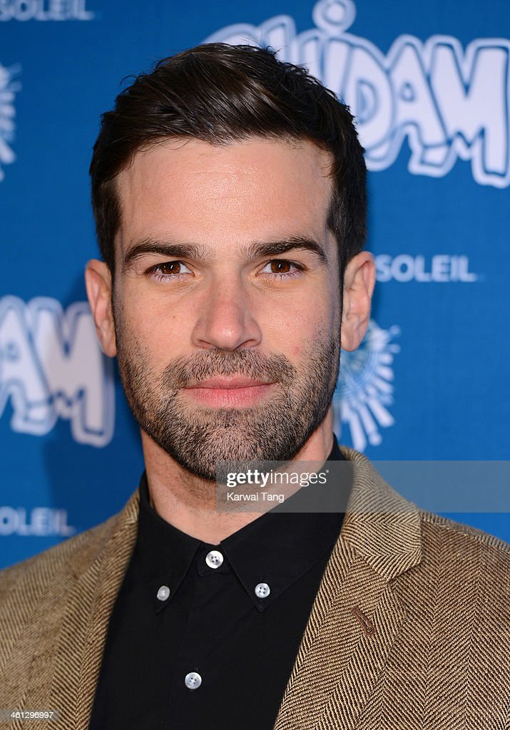 Gethin Jones attends the VIP night for Cirque Du Soleil: Quidam at Royal Albert Hall on January 7, 2014 in London, England.