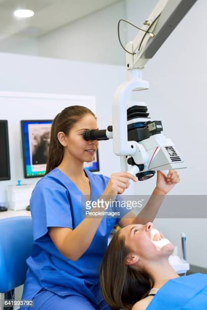Getting a detailed dental view