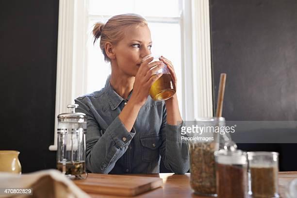 Ottenere una bevanda di tè di mattina