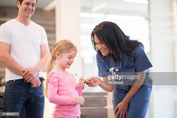 Obtención de una nueva cita en un cepillo Dental