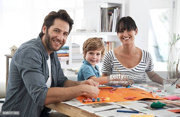 Getting creative as a family