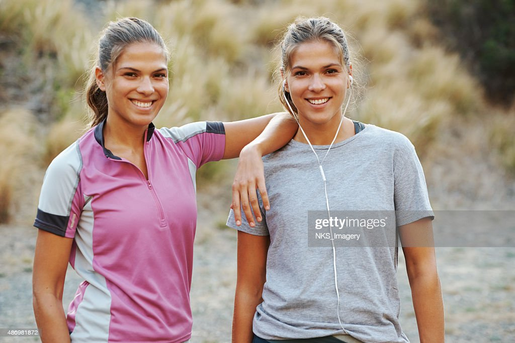 Getting fit and looking good! : Stockfoto