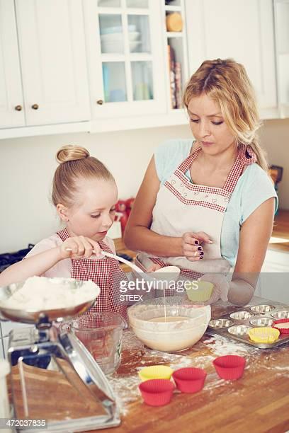 Wenn Sie bereit für den Ofen backen