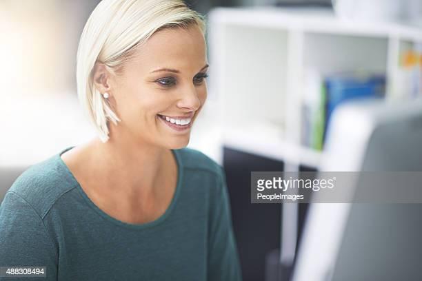 移動やお仕事、彼女の笑顔で