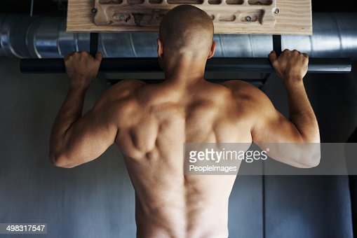 Getting in peak physical condition : Stock Photo