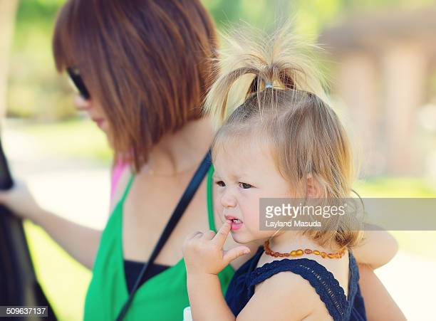 Getting Into The Car - Mom - Toddler
