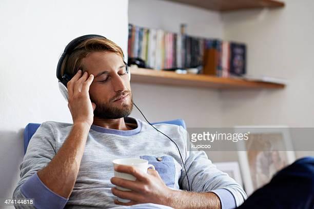 Sich in die Musik
