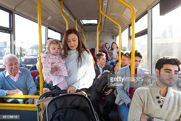 Sich abseits der Bus