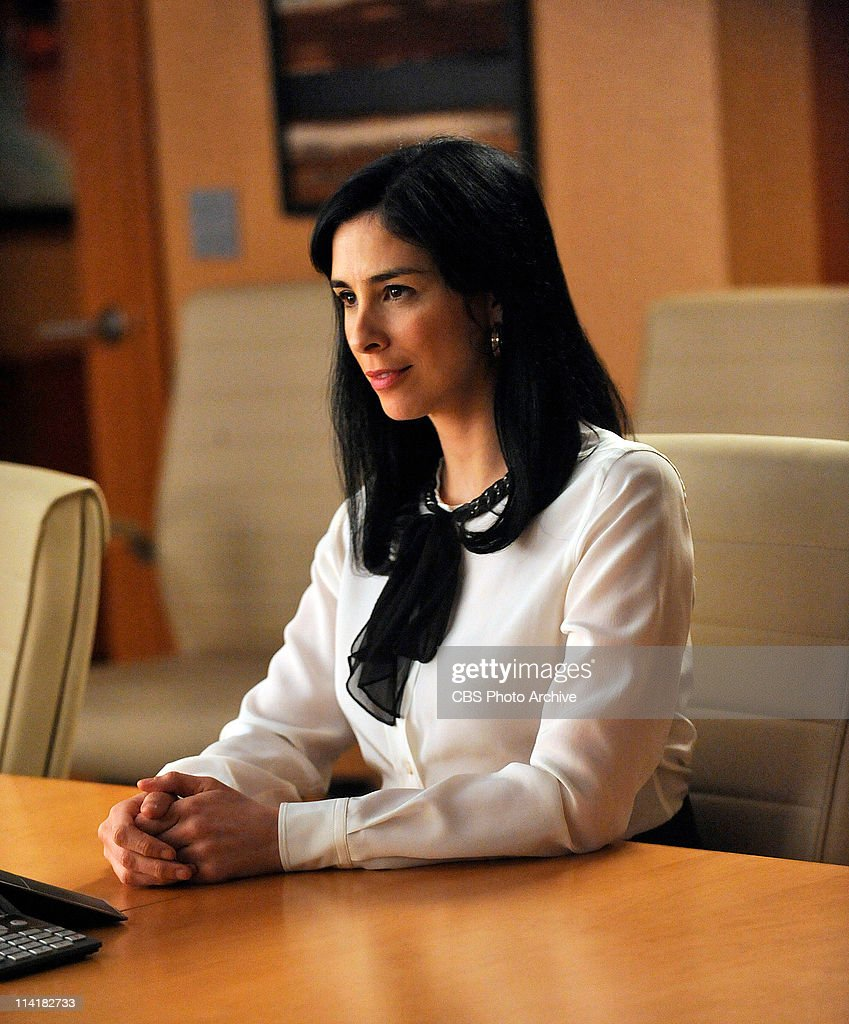 'Getting Off'--Lockhart/Gardner defends Stephanie Engler (guest star Sarah Silverman, right), the owner of an adultery website, when one of her users is murdered. However, the civil case turns criminal when the murder is pinned on Stephanie. Meanwhile Kalinda contemplates leaving the firm, on THE GOOD WIFE, Tuesday, May 10 (10:00-11:00 PM, ET/PT) on the CBS Television Network.