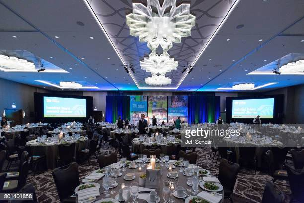 Getting ready for the Habitat Hero Award Dinner held June 13 2017 at the Loews Chicago Hotel in Chicago Illinois Ted Dosch EVP Finance and CFO...