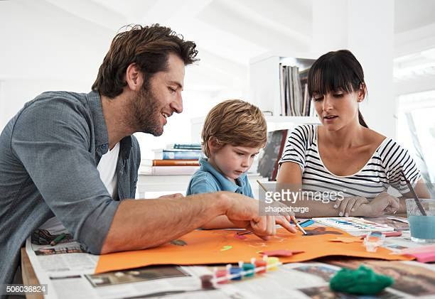 Ottenere aiuto con la sua arte progetto