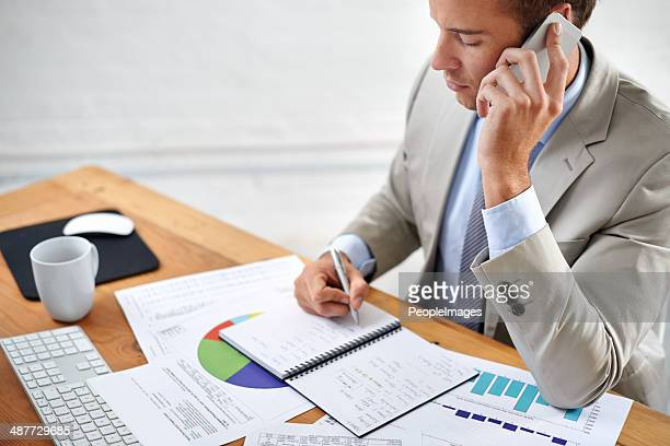 Getting the company's finances in order
