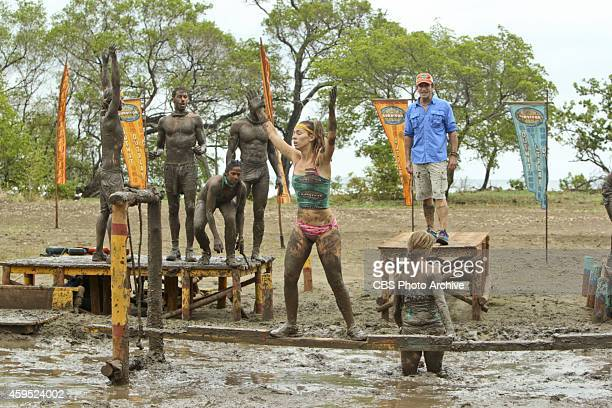 'Getting to Crunch Time' Baylor Wilson and Missy Payne during the ninth episode of Survivor 29 Wednesday Nov 19 on the CBS Television Network