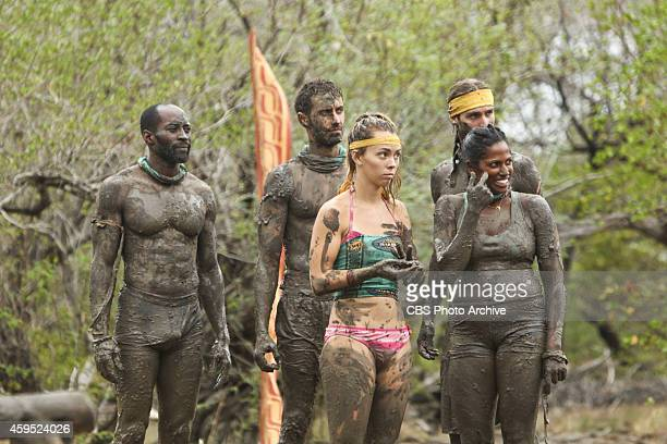 'Getting to Crunch Time' Jeremy Collins Reed Kelly Baylor Wilson Alec Christy and Natalie Anderson during the ninth episode of Survivor 29 Wednesday...
