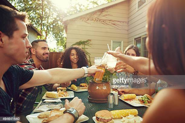 Getting together to celebrate summer