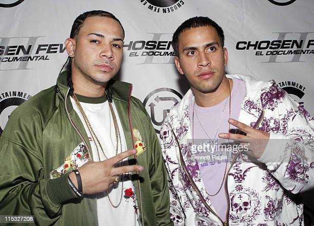 Getto and Boy Wonder during Premiere of the Chosen Few II 'El Documental EL Tour' in New York City New York United States