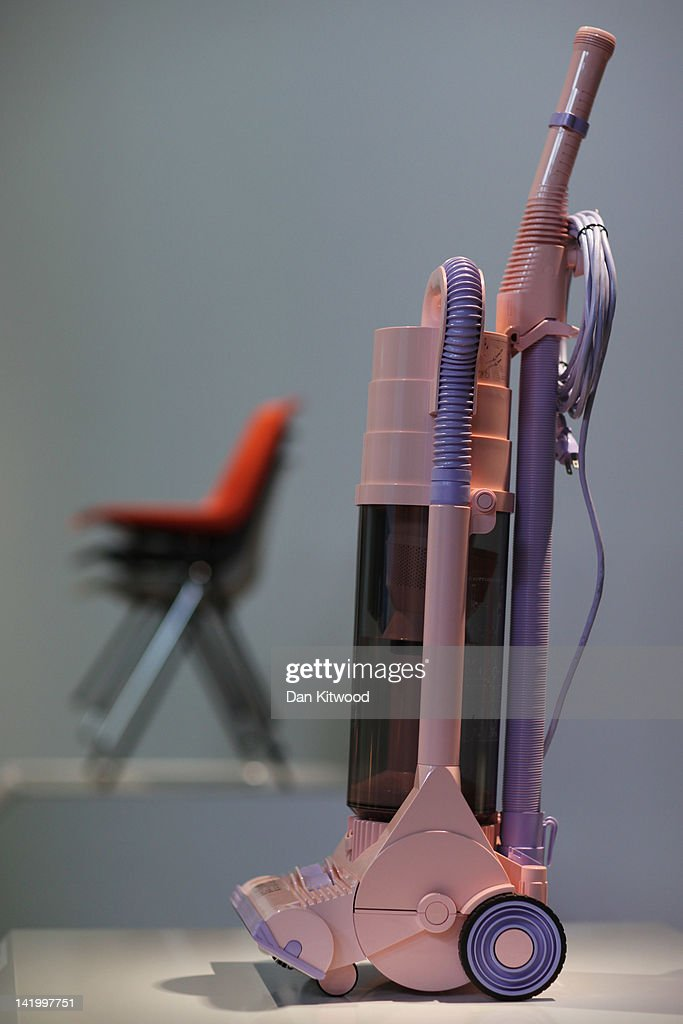 A 'G-Force' Vacuum cleaner designed by James Dyson is display at the Victoria and Albert museums' new major exhibition, 'British Design 1948-2012: Innovation In The Modern Age' on March 28, 2012 in London, England. The exhibition showcases some of the most iconic product design, fashion, furniture, graphics, architecture and fine art from the last 60 years, and opens to the public from March 31, 2012.