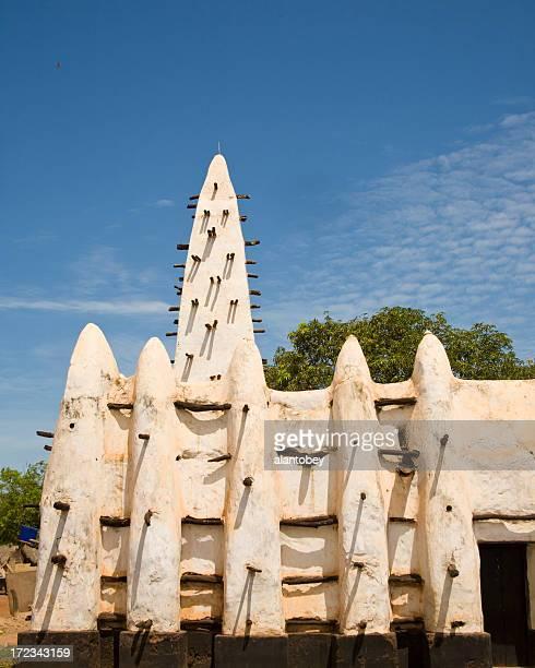 Ghana: Old Mosque at Banda Nkwanta
