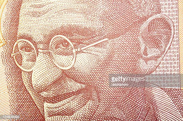 Ghandi on Banknote