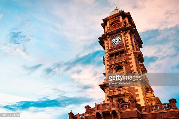 Ghanta Ghar Clock Tower at Sunset in Jodhpur, India