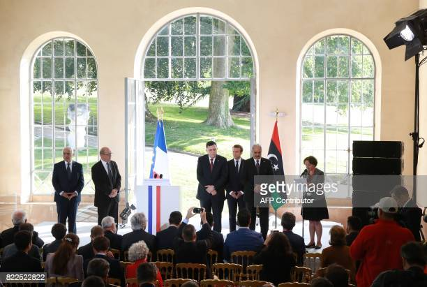 Ghassan Salame Special Representative to the Secretary General of the United Nations for Libya French Foreign Affairs Minister JeanYves Le Drian...