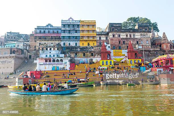 Ghats, River Ganges, Varanasi, India