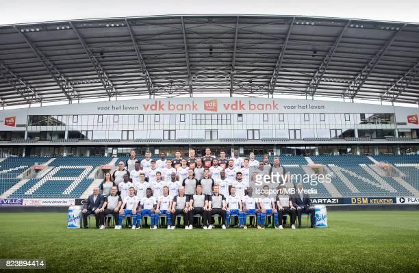Ghelamco arena Belgium Teampresentation KAA Gent 201718'n'nBack Row from LR'nBert Bogaert / Stefan MITROVIC / Renato NETO / Youn CZEKANOWICZ / Jacob...