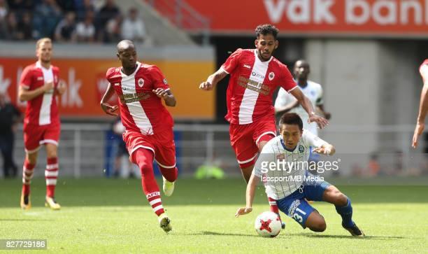 20170806 Ghent Belgium / Kaa Gent v Royal Antwerp Fc / Faris HAROUN Yuya KUBO / Football Jupiler Pro League 2017 2018 Matchday 2 / Picture by Vincent...
