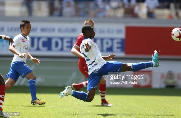 20170806 Ghent Belgium / Kaa Gent v Royal Antwerp Fc / Mamadou SYLLA / Football Jupiler Pro League 2017 2018 Matchday 2 / Picture by Vincent Van...