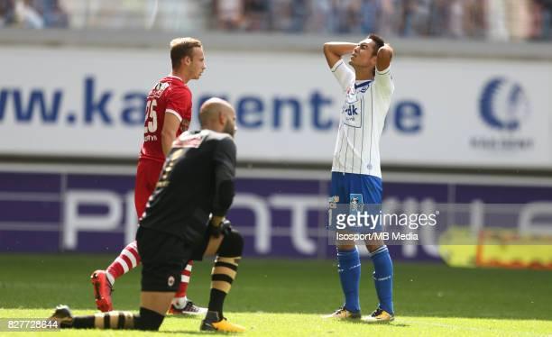 20170806 Ghent Belgium / Kaa Gent v Royal Antwerp Fc / Yuya KUBO Deception / Football Jupiler Pro League 2017 2018 Matchday 2 / Picture by Vincent...