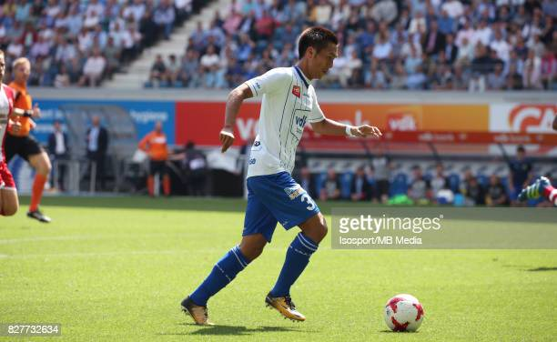 20170806 Ghent Belgium / Kaa Gent v Royal Antwerp Fc / Yuya KUBO / Football Jupiler Pro League 2017 2018 Matchday 2 / Picture by Vincent Van Doornick...